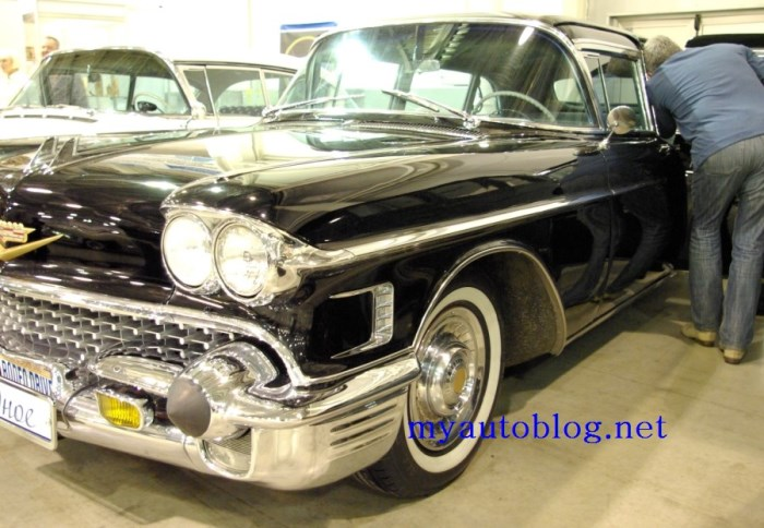 Cadillac Fleetwood Limo 75 series-1958