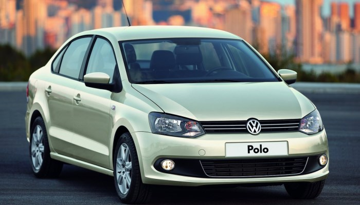 new-volkswagen polo sedan