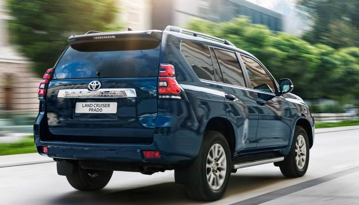2018-new-Toyota Land Cruiser Prado