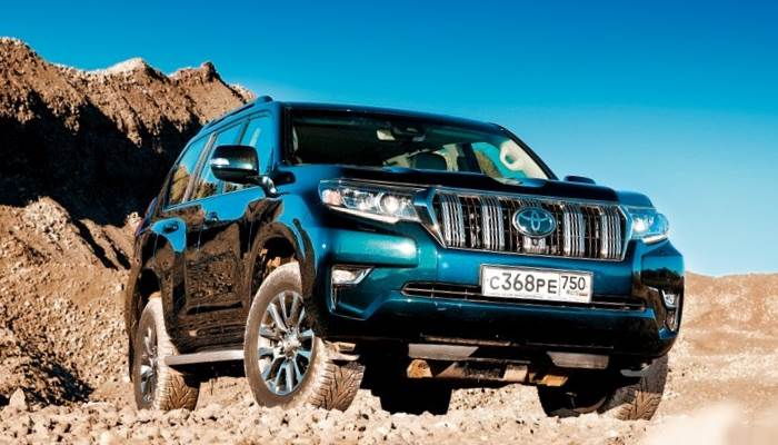 Toyota Land Cruiser Prado-2018