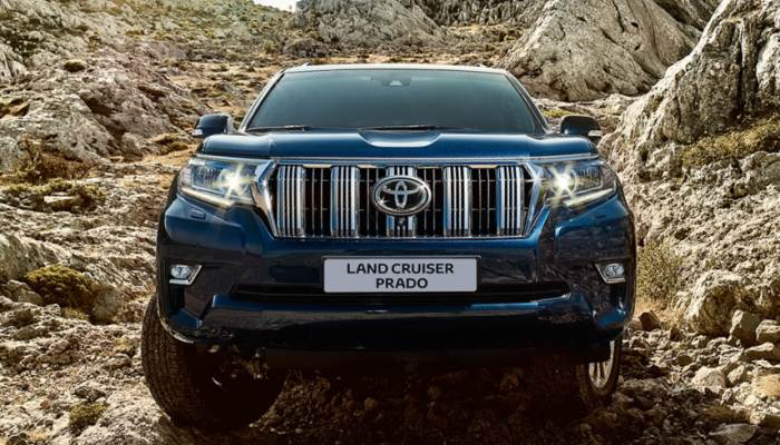 new-Toyota Land Cruiser Prado-2018